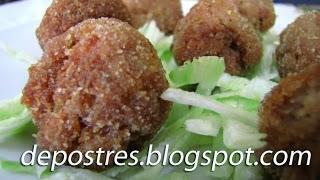 ALBONDIGAS DE CALABACINES