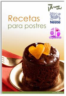 Libro: Recetas para Postres de Nestle