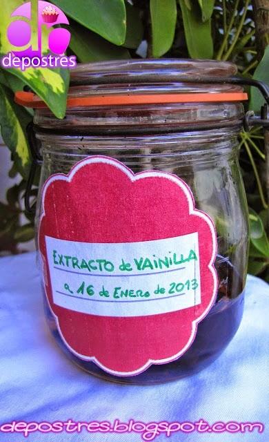 EXTRACTO DE VAINILLA CASERO
