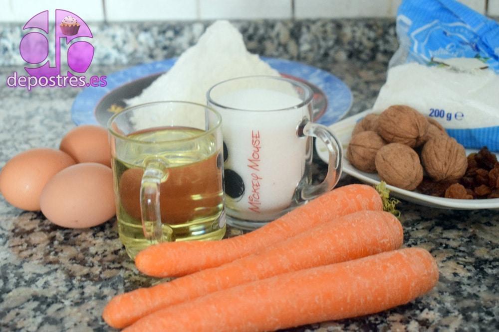 tarta de zanahoria con crema de mantequilla